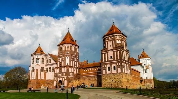 Белоруссия, средневековый замок