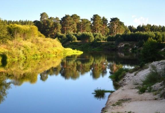 Арзамас расположен на реке Теше