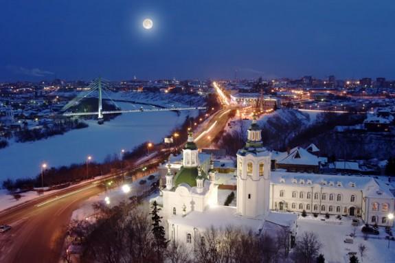 Зимняя Тюмень