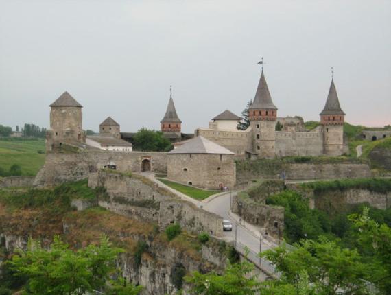 Каменец-Подольский: крепость