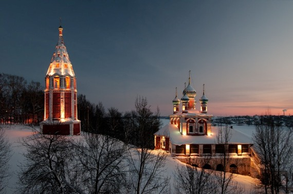 Тутаев, Казанская Преображенская церковь