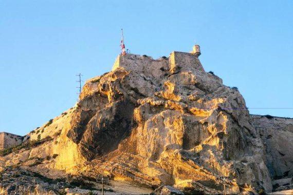 Крепость Castillo de Santa Barbara, Испания, Аликанте