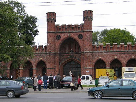 Росгартенские ворота в Калининграде