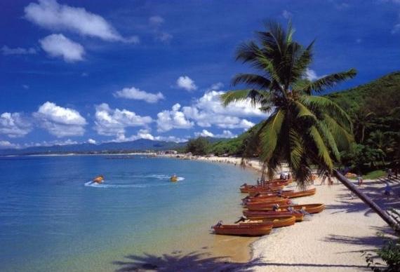 Курорт Китая остров Хайнань