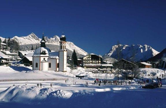 Австрия: горнолыжный курорт Зеефельд