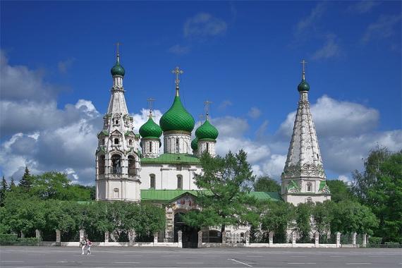 Церкви Ярославля знамениты на весь мир