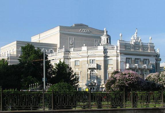 Оперный театр в Екатеринбурге