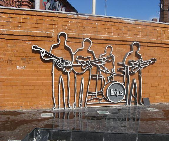 Уникальный памятник The Beatles в Екатеринбурге