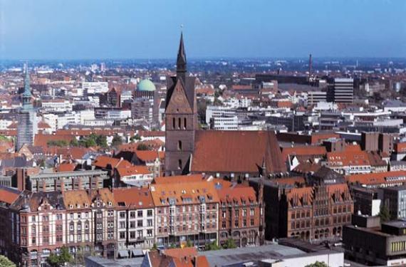 Ганновер, столица Нижней Саксонии