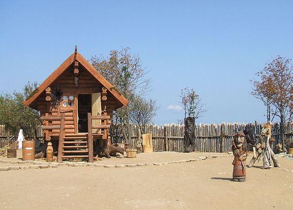 Баба-Яга живет на Тамани