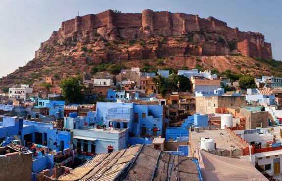 Крыши Джодхпура