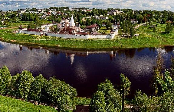 Поволжье - край архитектурных памятников