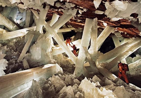Мексика: пещера гигантских кристаллов