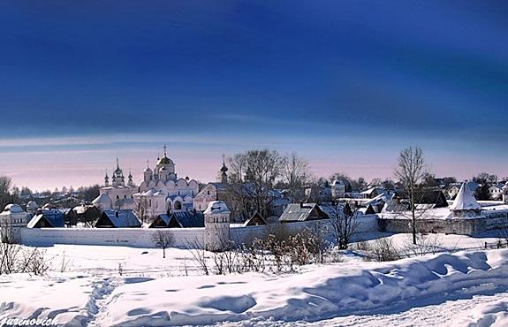 Зимний Суздаль