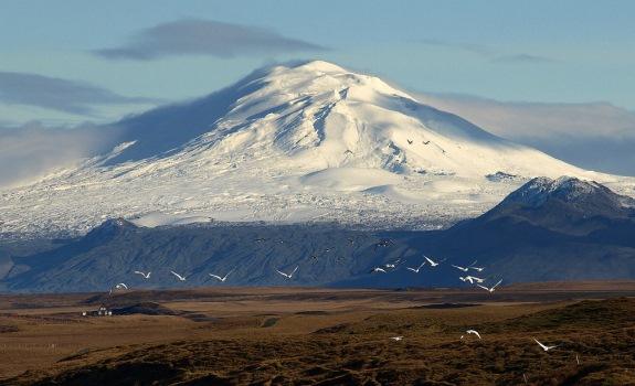 Исландия, вулкан Гекла