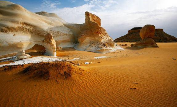 Белая пустыня - национальный парк Египта