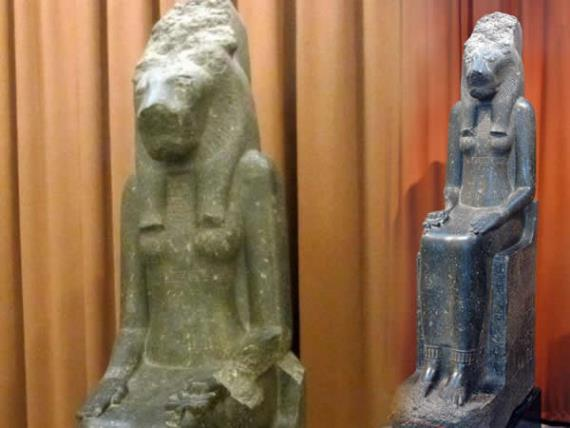 Богиня Мух-Сохмет