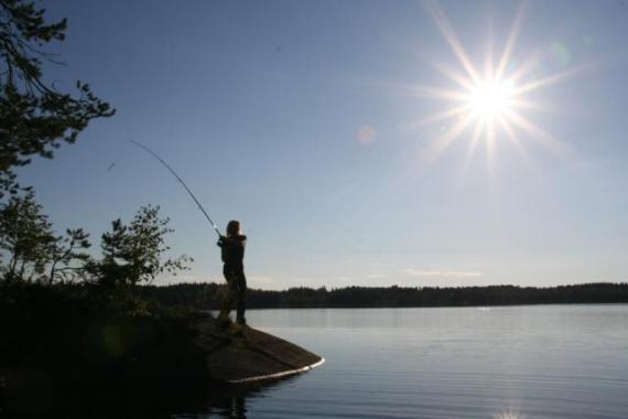 Рыбалка в Финляндии, национальный парк Коли