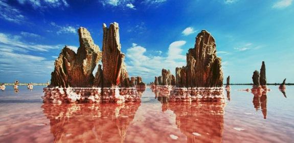 Крым, озеро Сасык-Сиваш