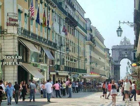 Главная улица Лиссабона