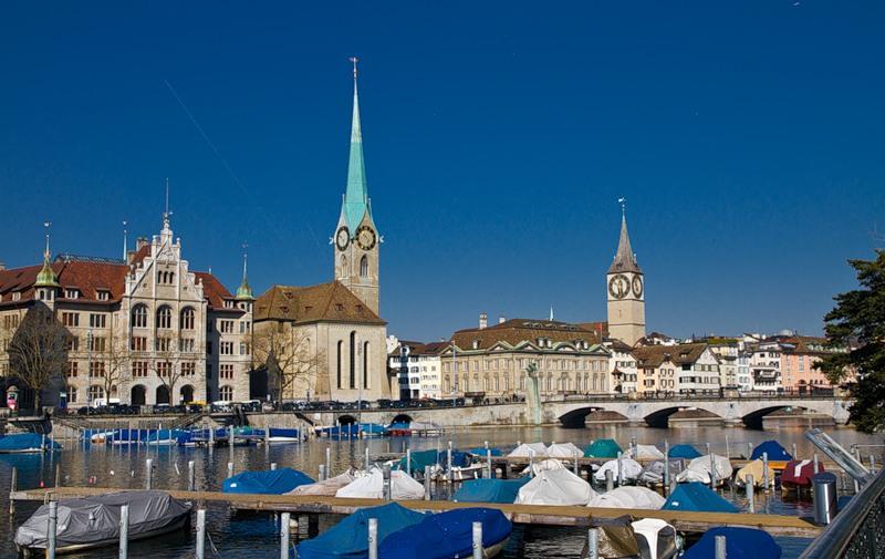 Цюрих, Германия