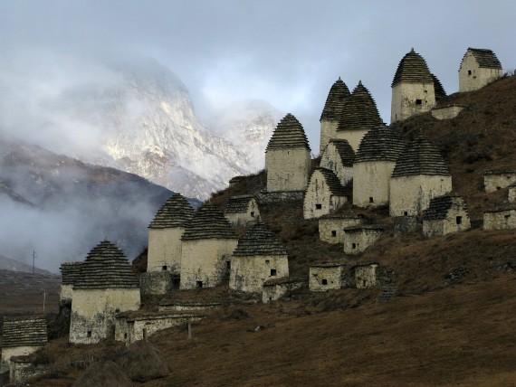 Город мёртвых в Осетии