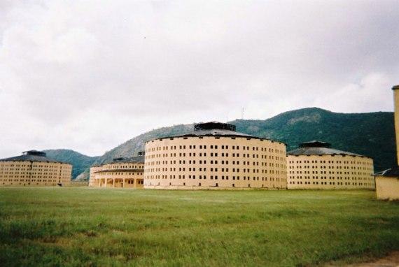 Куба. Тюрьма, в которой сидел Фидель Кастро