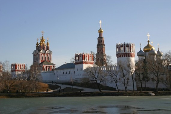 Новодевичий монастырь в Москве, фото Духанина С. Ю.