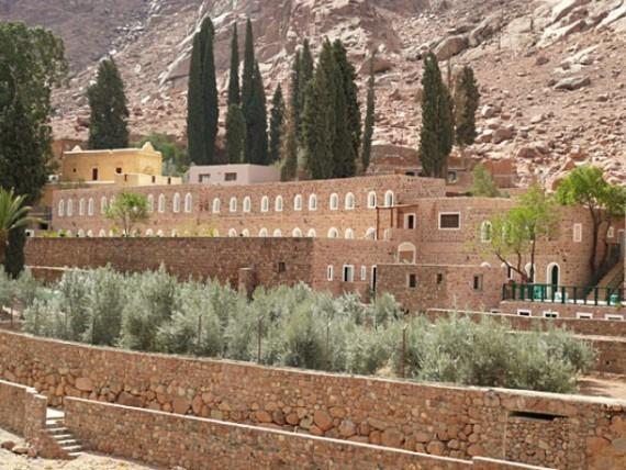 Монастырь Святой Екатерины у Горы Моисея в Дахабе, Египет