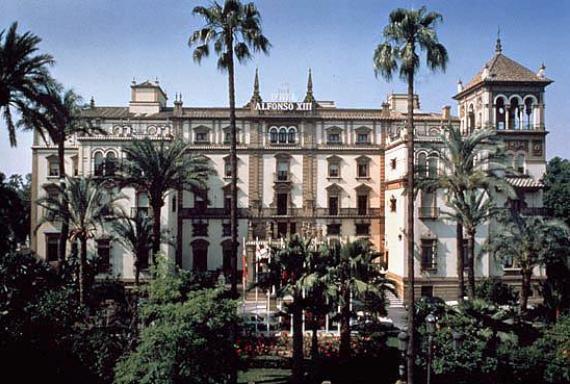 Отель Alfonso XIII, Севилья