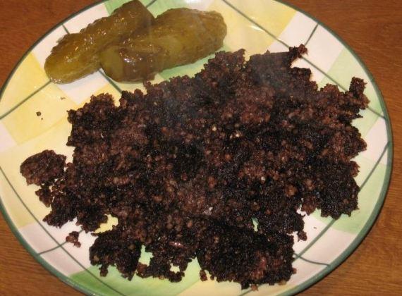 Польская кашанка - обычная кровяная колбаса