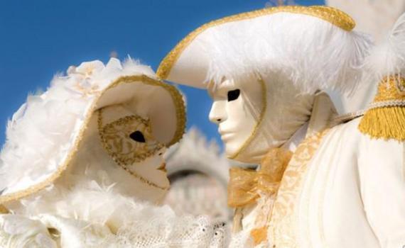 Свадьба - венецианский карнавал