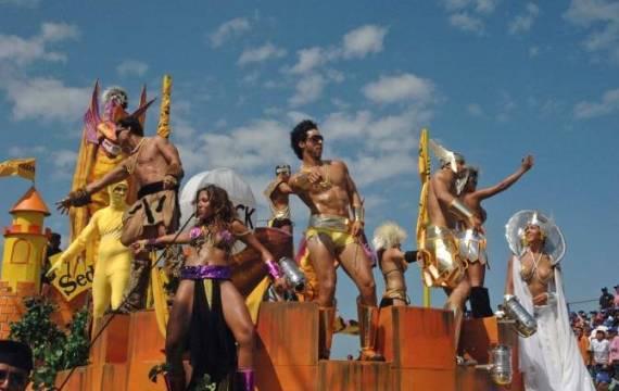 Карнавал в Веракрусе - яркое красочное действо