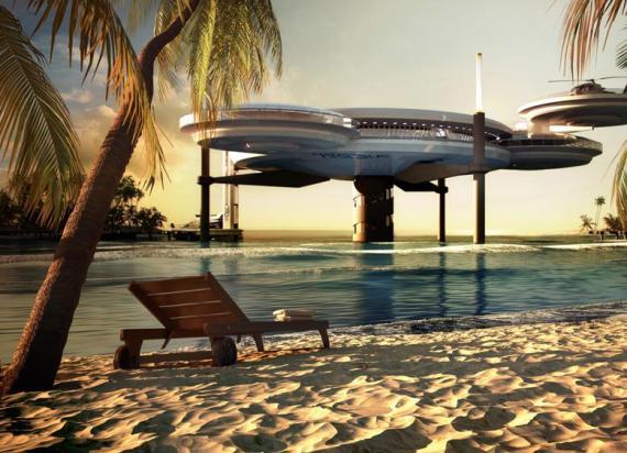 Дубаи, подводный отель