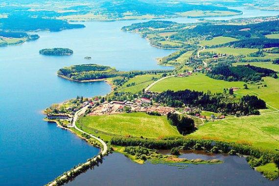 Чехия, озеро Липно