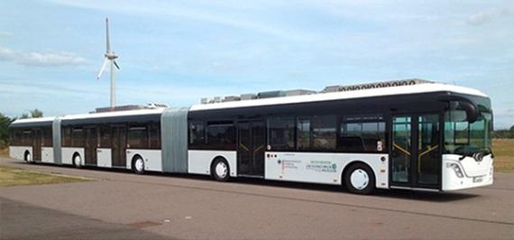 Самый длинный автобус в мире