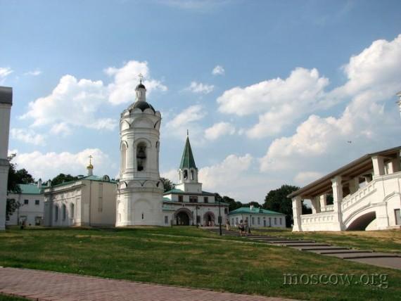 Дворянские усадьбы Москвы: Коломенское