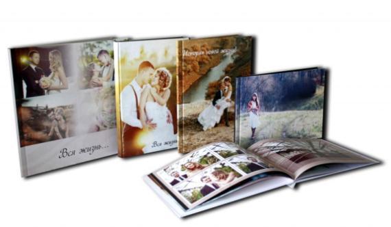 Варианты свадебных фотокниг