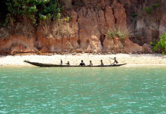 Гвинея-Бисау: типичный ландшафт