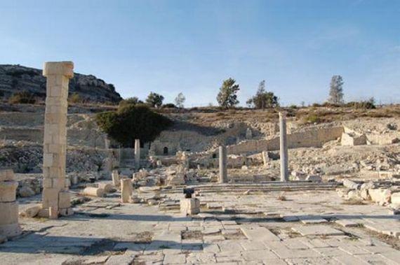 Кипр, раскопки древнего города Аматус
