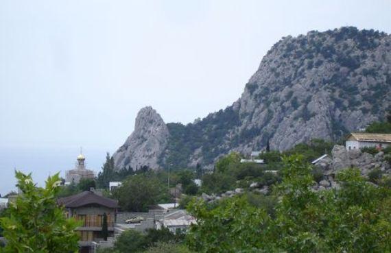 Гора Кошка в Симеизе, Украина