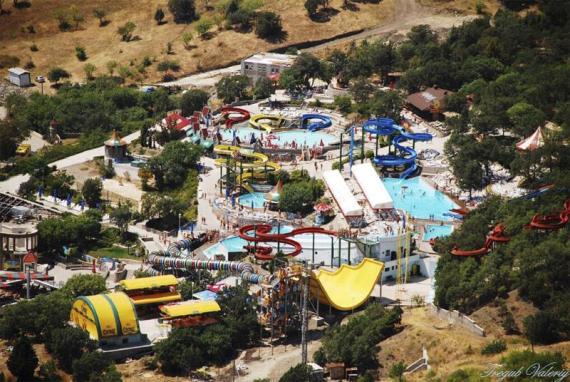 Аквапарк в Симеизе - самый большой на Украине