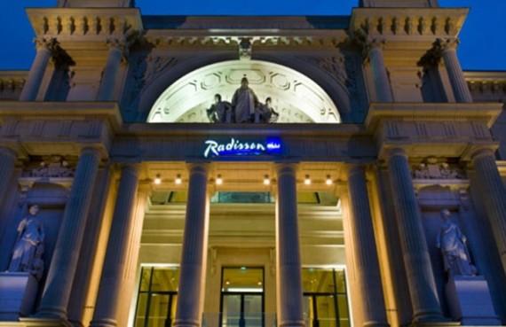 Отель Radisson Blu построили во Дворце правосудия