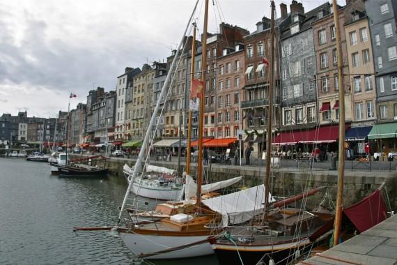 Онфлёр - курорт и порт во Франции