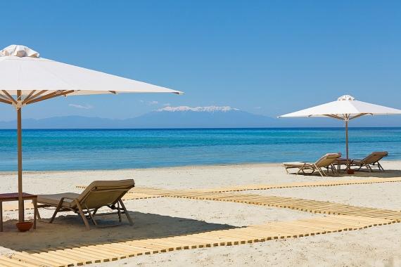 Пляжи Кипра не только чистые, но и благоустроенные