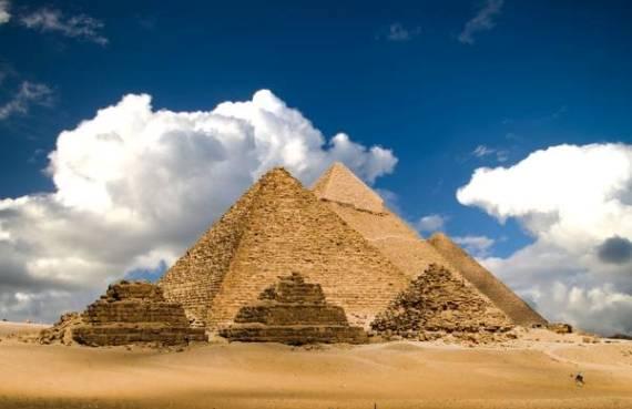 Пирамиды Гизы приобретут зеленый оттенок