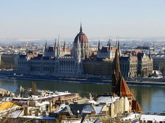 Будапешт, здание парламента Венгрии