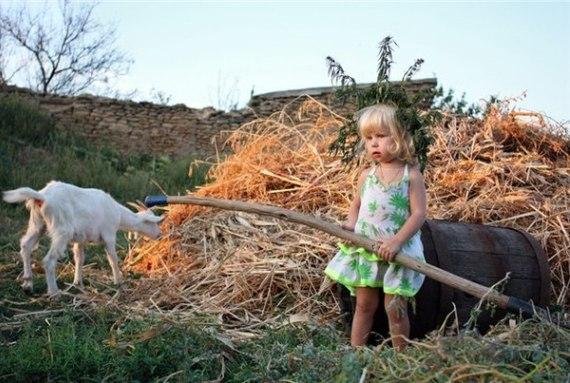 Отдых с детьми в деревне