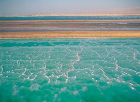 Мертвое море - самое низкое место на Земле