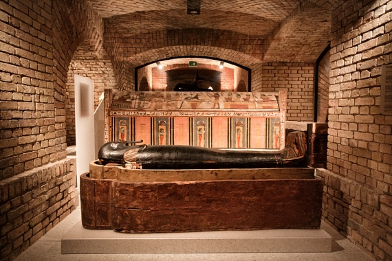 Египетский музей на Музейном острове в Берлине